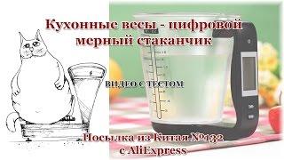 видео Электронные кухонные весы SF-400 7 кг. Видеообзор весов от Electronoff