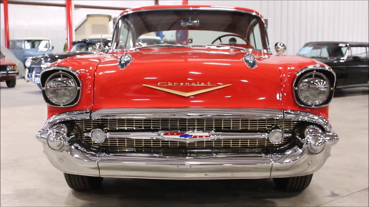 1957 Chevy Bel Air Red