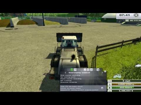 Course play farming simulator 2013 tutorial