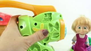Koca Ayı Ve Masha Yeni Dondurma Makinesi Alıyor