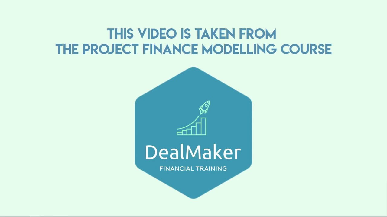 Project finance - how to size senior debt - CFADS & DSCRs