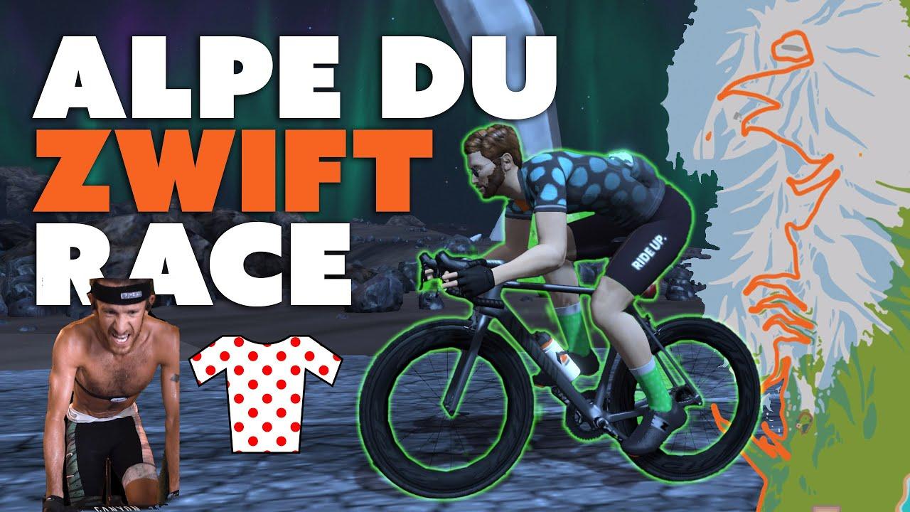 Alpe Du Zwift Race || Final Series Race