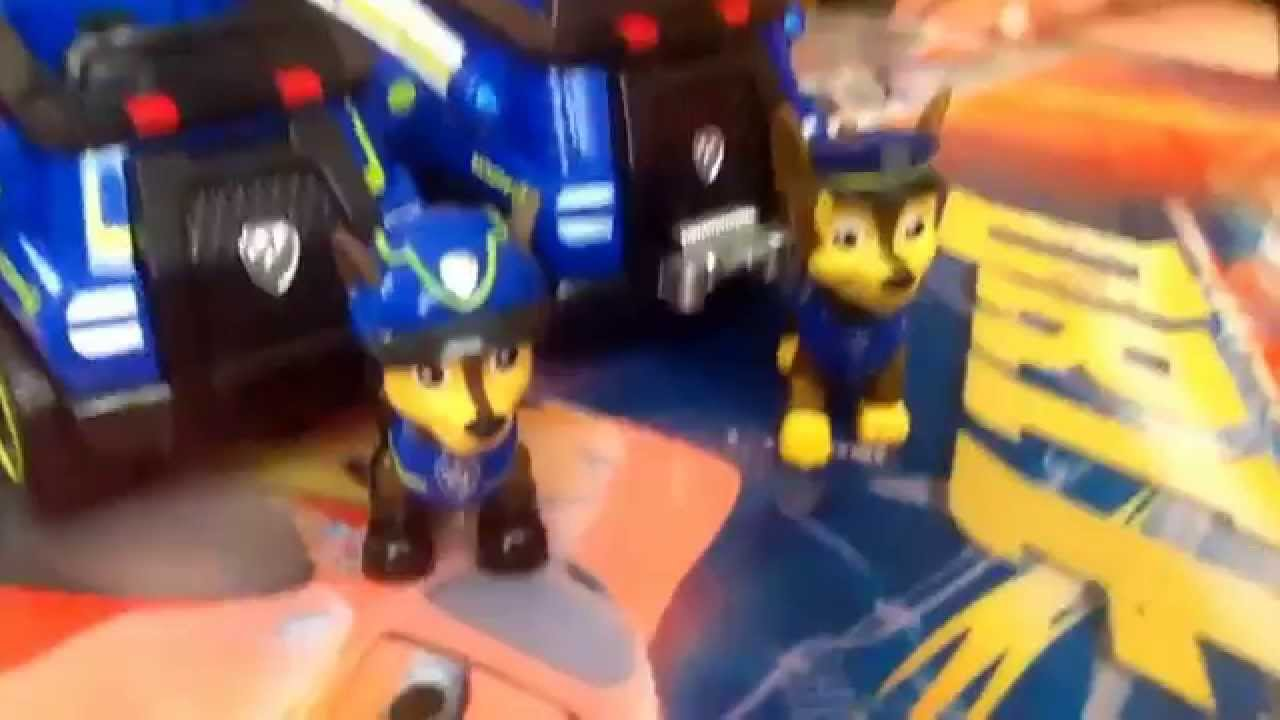 paw patrol toy super spy chase toy review