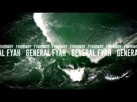 FYAHBWOY - General Fyah - BL4QKFY4H (LYRICS VIDEO)