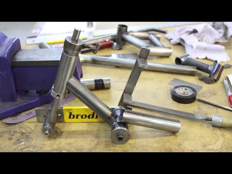 Paul Brodie Bike Frame Building Course