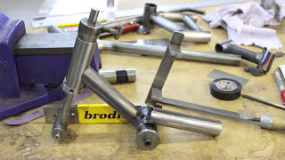 Bike Frame Building School 101.mov