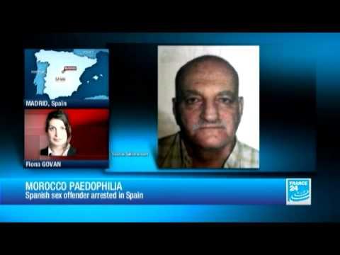 Paedophile Daniel Galvan arrested in Murcia