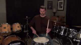 Backsticking - Stick Tricks Snare Drum Lesson w/ Jeff Jones - Zomac School of Music