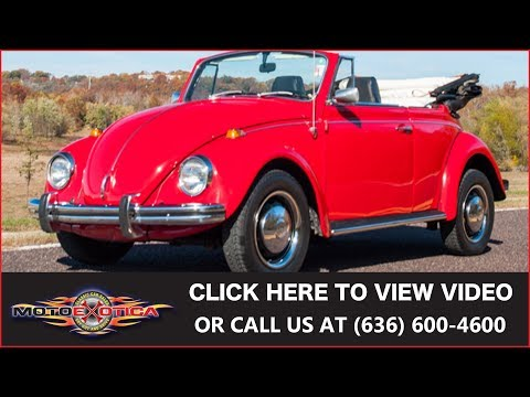 1968 Volkswagen Beetle Convertible (SOLD)