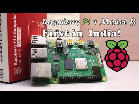 Raspberry Pi 4 Model B(2019) Review! | First In India!