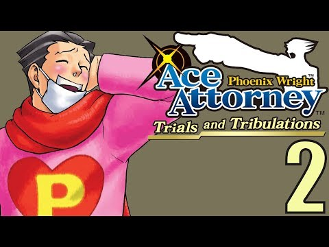 Phoenix Wright Ace Attorney: TaT -2- The Lovestruck Fool