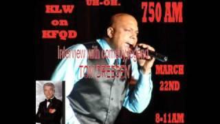 KFQD interview with comedy legend Tom Dreesen pt.1