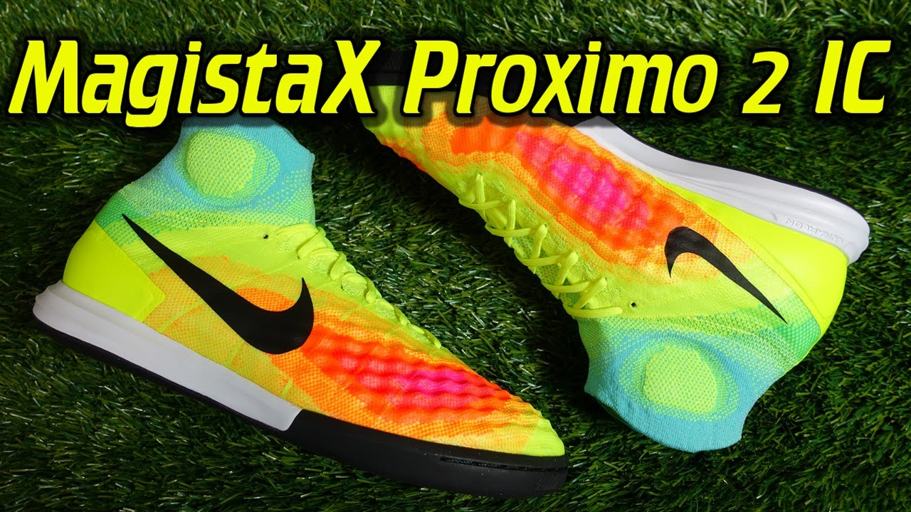 Nike Magista X Proximo 2 Indoor (Volt Total Orange Black) - Review + On  Feet - YouTube 00a6554fb
