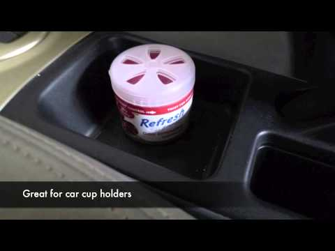 Getting to know Refresh 4.5oz Gel Car Air Fresheners - YouTube