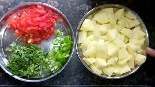 अगर ऐसे बनाएंगे आलू टमाटर की सब्ज़ी तो खाते ही रह जाएंगे | Aloo Tamatar ki Sabzi