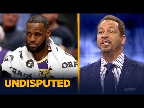 Chris Broussard says fatigue led to one of LeBron James' worst performances | NBA | UNDISPUTED