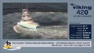 Viking 42 Open   Jefferson Beach Yacht Sales