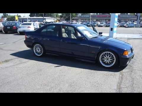 1997 BMW 328i, Navy Blue - STOCK# 11196