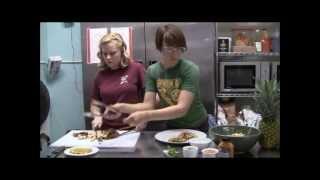 Chipotle Pineapple Slaw W/pork Roast