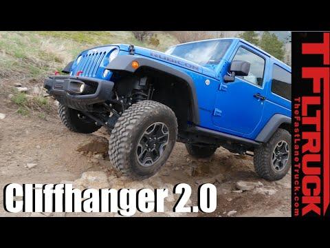 Jeep Wrangler Rubicon vs Sport vs Renegade vs Cliffhanger 2.0 Extreme Off-Road Mashup Review