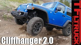 Jeep Wrangler Rubicon vs Sport vs Renegade vs Cliffhanger 2.0 Extreme Off-Road Mashup Review