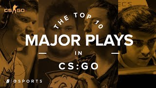 The Top 10 Plays from CS:GO Majors
