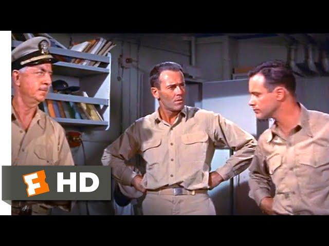 Mister Roberts (1955) - Making Scotch Scene (2/10) | Movieclips