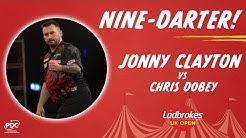 NINE-DARTER! Jonny Clayton - 2020 UK Open - Last 16