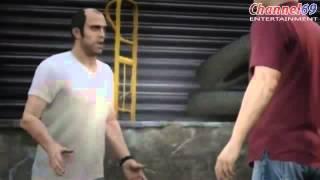 GRAND THEFT AUTO V  Trevor Trailerhot video