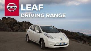 Nissan LEAF: Driving range