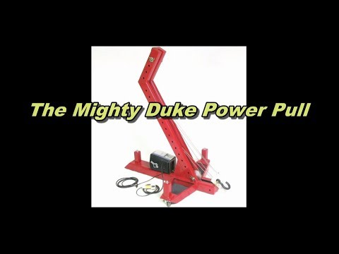 the mighty duke portable auto body and frame machine collision repair system