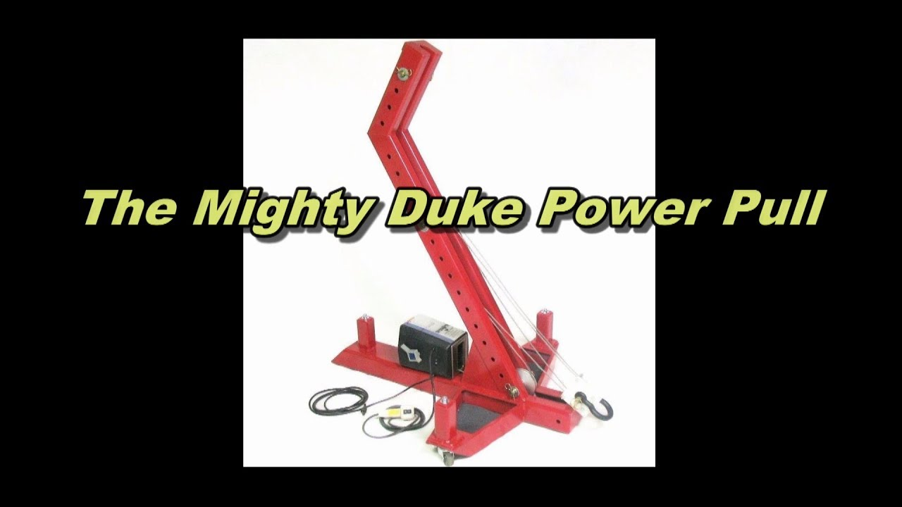 The Mighty Duke - Portable Auto Body and Frame Machine - Collision ...