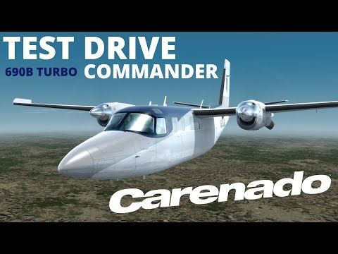 Prepar3D v4 -Carenado Do-228 Virsual approch LICJ with heavy wind by