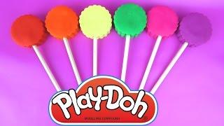 Вчимо слова play Doh льодяники! Ура! Іграшка розпакування | урок для немовлят, малюків та чудові діти!