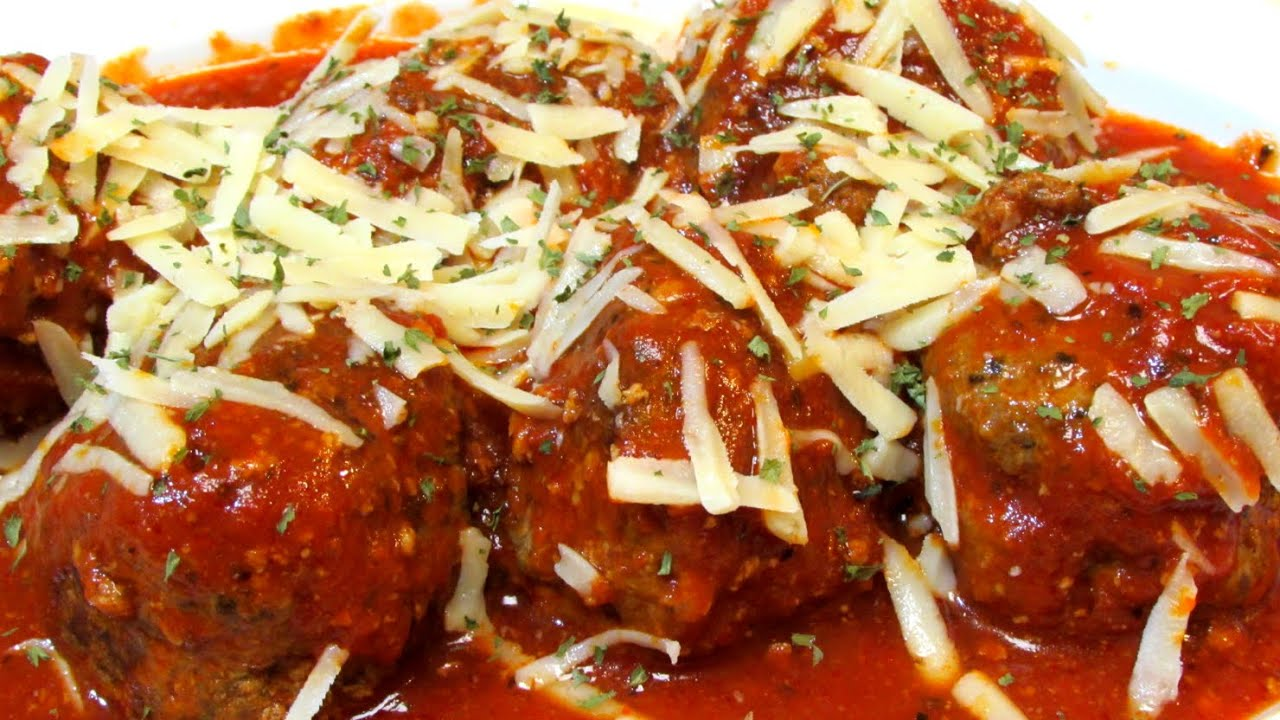recipe: no carb meatballs and sauce [35]