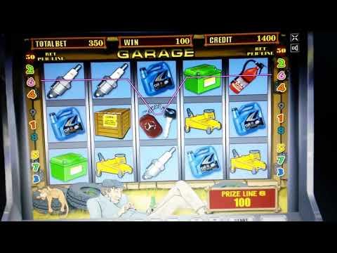 Удачная игра в автомат Гараж. Игровые автоматы онлайн на виртуальные деньги без регистрации.