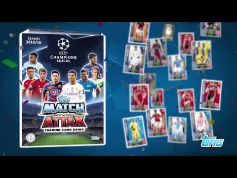 Kolekcja kart Topps Uefa Champions League