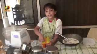 How To Make Choco Bar - Ice Cream - Episode 3 - Krishna Vachann And The Red Bucket