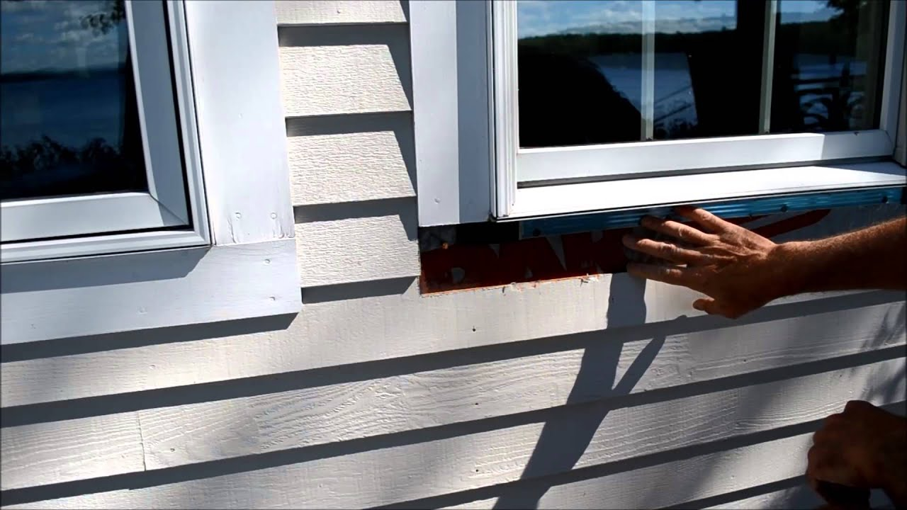 How to Replace Exterior Window Trim Video - YouTube