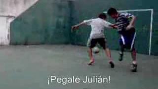 ¡Pegale Julián!