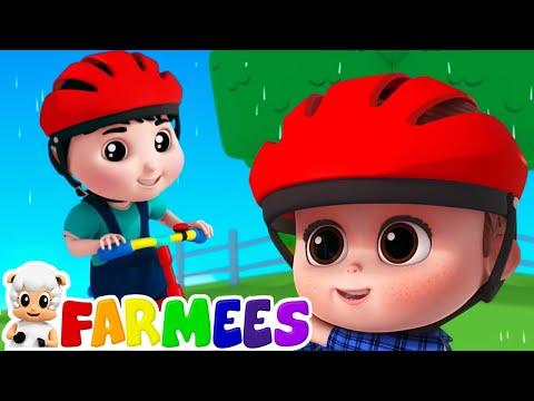 มาปั่นจักรยานกันเถอะ | การ์ตูนสำหรับเด็ก | ภาพเคลื่อนไหว | Farmees Thailand | วิดีโอการศึกษา