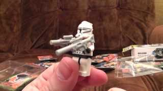 Fake Lego - Star Wars, Turtles, Batman Begins cards   Ashens
