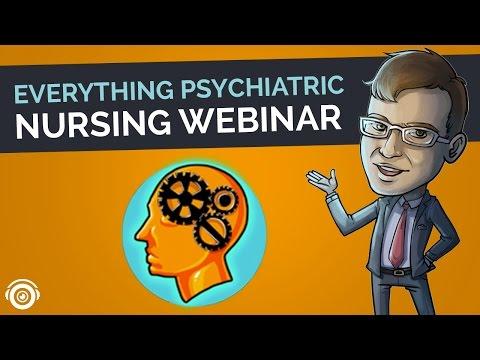 Everything Psychiatric | Picmonic Nursing Webinar