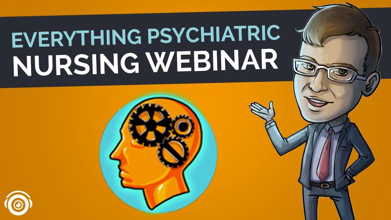 Everything Psychiatric   Picmonic Nursing Webinar