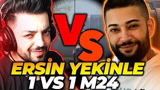 ERSİN YEKİNLE 1VS1 M24   PUBG MOBİLE
