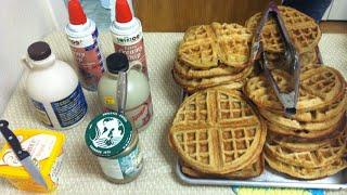 The World's Easiest, Crowd Pleasing Vegan Waffle Recipe