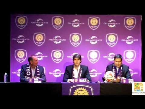 Orlando City sign Kaká - Full Press Conference