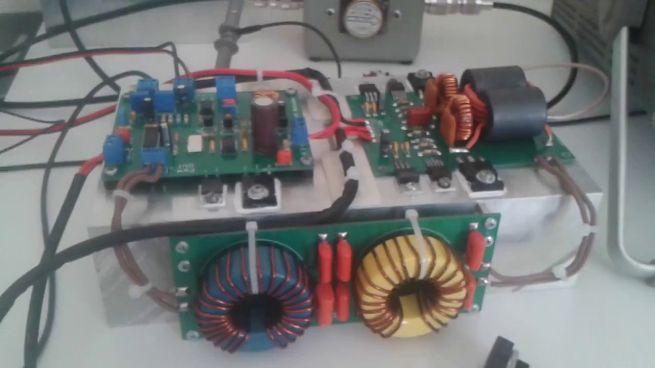 CLASS D AM DDS TRANSMITTER FOR BROADCASTING