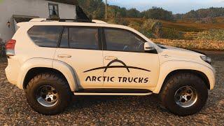 Forza Horizon 4 - 2016 Toyota Land Cruiser Arctic Trucks AT37 - Car Show Speed Jump Crash Test .