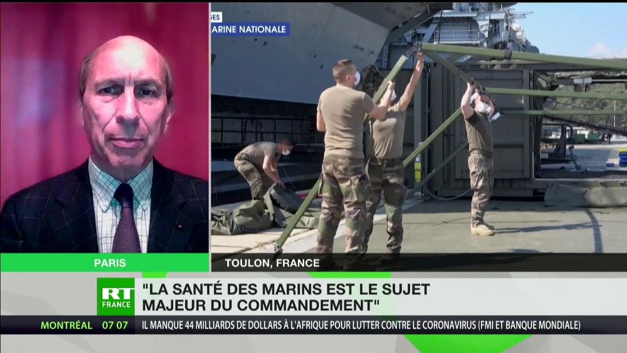 Matelots contaminés : «La santé des marins est le sujet majeur du commandement»